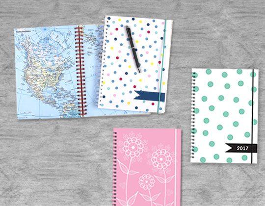 Skapa din personliga kalender eller anteckningsbok.